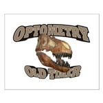 Optometry Old Timer Small Poster