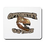 Optometry Old Timer Mousepad