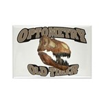 Optometry Old Timer Rectangle Magnet