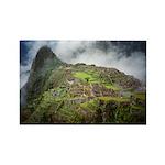 Machu Picchu Rectangle Magnet
