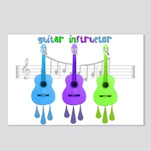 Guitar instructor Postcards (Package of 8)