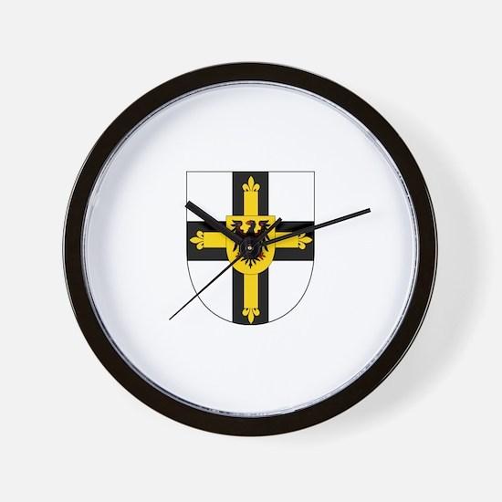 Teutonic Knights Wall Clock
