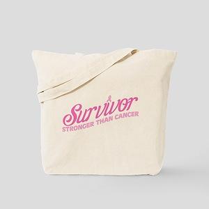 Survivor Stronger Tote Bag