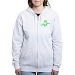 Molecularshirts.com Paranoid Women's Zip Hoodie