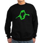 Molecularshirts.com Paranoid Sweatshirt (dark)