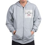 Molecularshirts.com Parasite Zip Hoodie