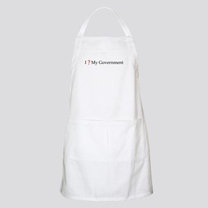 I question my government BBQ Apron