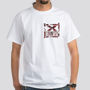 Cross Country White T-Shirt