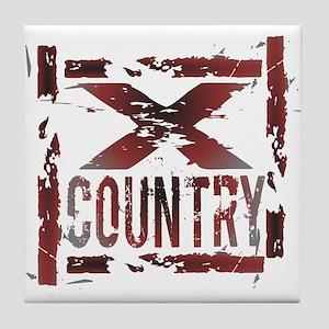 Cross Country Tile Coaster