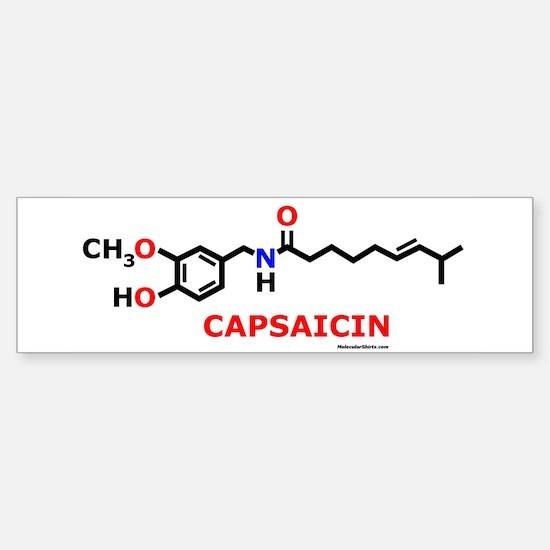 Molecularshirts.com Capsaicin Sticker (Bumper)