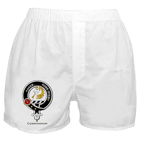 Cunningham Clan Crest Badge Boxer Shorts