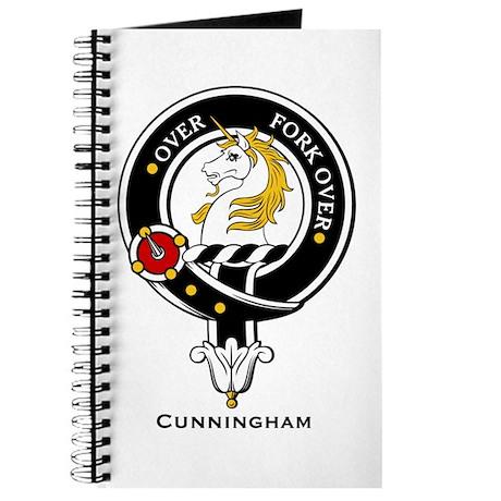 Cunningham Clan Crest Badge Journal
