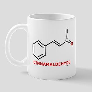 Molecularshirts.com Cinnamaldehyde Mug