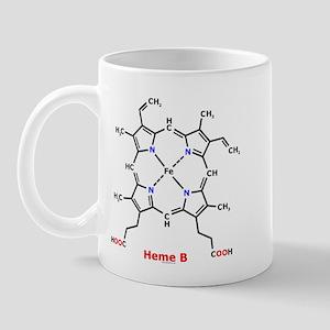 Molecularshirts.com Heme Mug