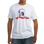 Statue of Liberty Fitted T-Shirt