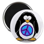 "Peace penguin 2.25"" Magnet (10 pack)"