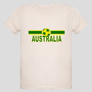 Aussie Soccer 2010 Organic Kids T-Shirt