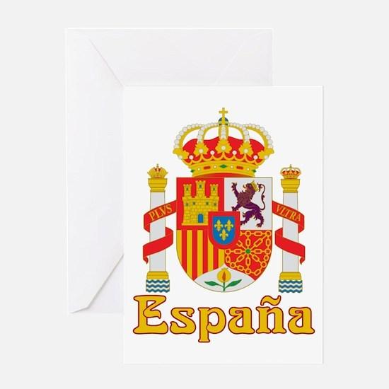Spain Greeting Card