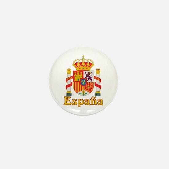 Spain Mini Button
