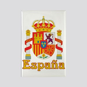 Spain Rectangle Magnet