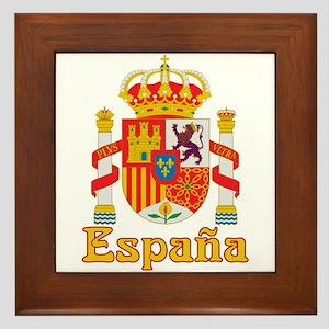 Spain Framed Tile