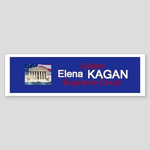 Elena Kagan Sticker (Bumper)