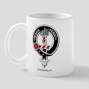 Chisholm Clan Crest Badge Mug