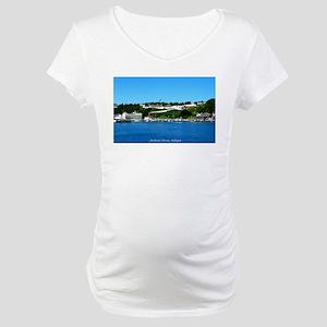 Mackinac Island, Michigan Maternity T-Shirt