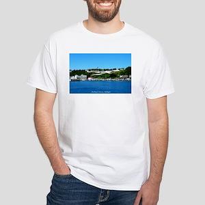 Mackinac Island, Michigan White T-Shirt