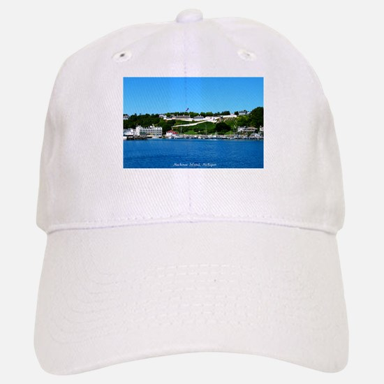 Mackinac Island, Michigan Baseball Baseball Cap