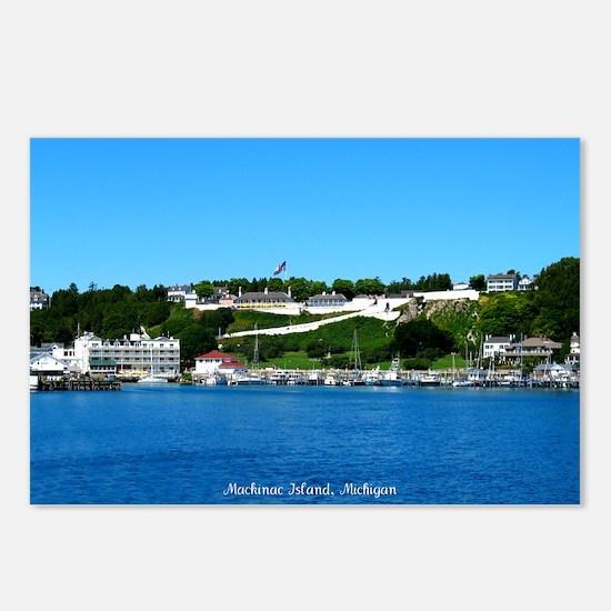 Mackinac Island, Michigan Postcards (Package of 8)