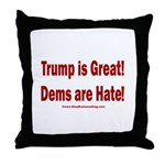 Mueller Report Reveals Throw Pillow