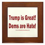 Mueller Report Reveals Framed Tile