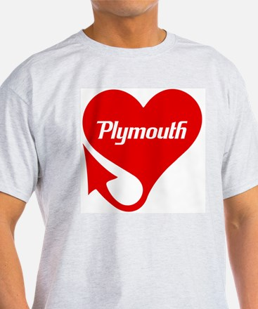"""Plymouth Heart - """"We'll Win You Over"""" T-Shirt"""