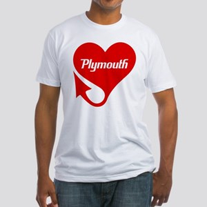 "Plymouth Heart - ""We'll Win You Over"" Fitted T-Shi"
