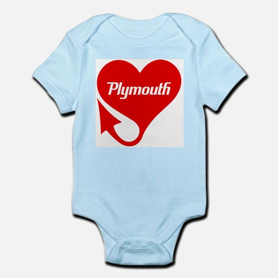 "Plymouth Heart - ""We'll Win You Over"" Infant Bodys"