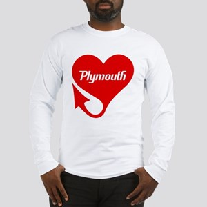 """Plymouth Heart - """"We'll Win You Over"""" Long Sleeve"""