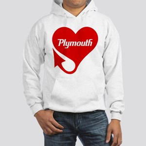 "Plymouth Heart - ""We'll Win You Over"" Hooded Sweat"