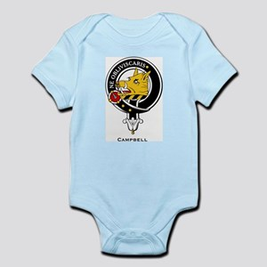 Campbell Clan Crest Badge Infant Creeper