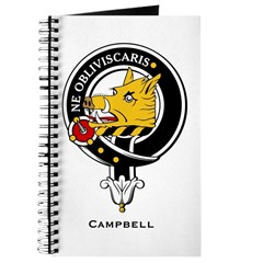 Campbell Clan Crest Badge Journal