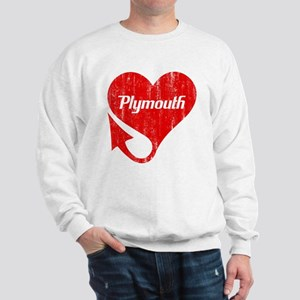 Plymouth Heart - Weathered Sweatshirt