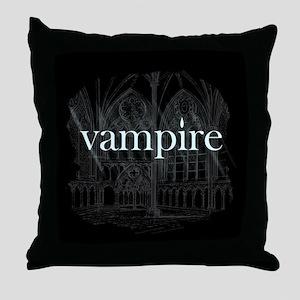 Vampire Gothic Throw Pillow