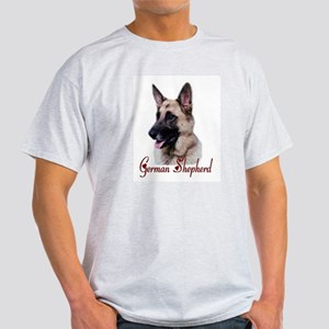 German Shepherd Ash Grey T-Shirt