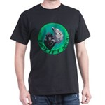 Earth Uplift Center Basic Dark T-Shirt