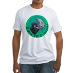 Earth Uplift Center Basic Fitted T-Shirt