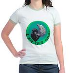 Earth Uplift Center Basic Jr. Ringer T-Shirt