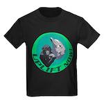 Earth Uplift Center Basic Kids Dark T-Shirt