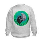 Earth Uplift Center Basic Kids Sweatshirt