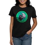 Earth Uplift Center Basic Women's Dark T-Shirt