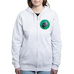 Earth Uplift Center Basic Women's Zip Hoodie
